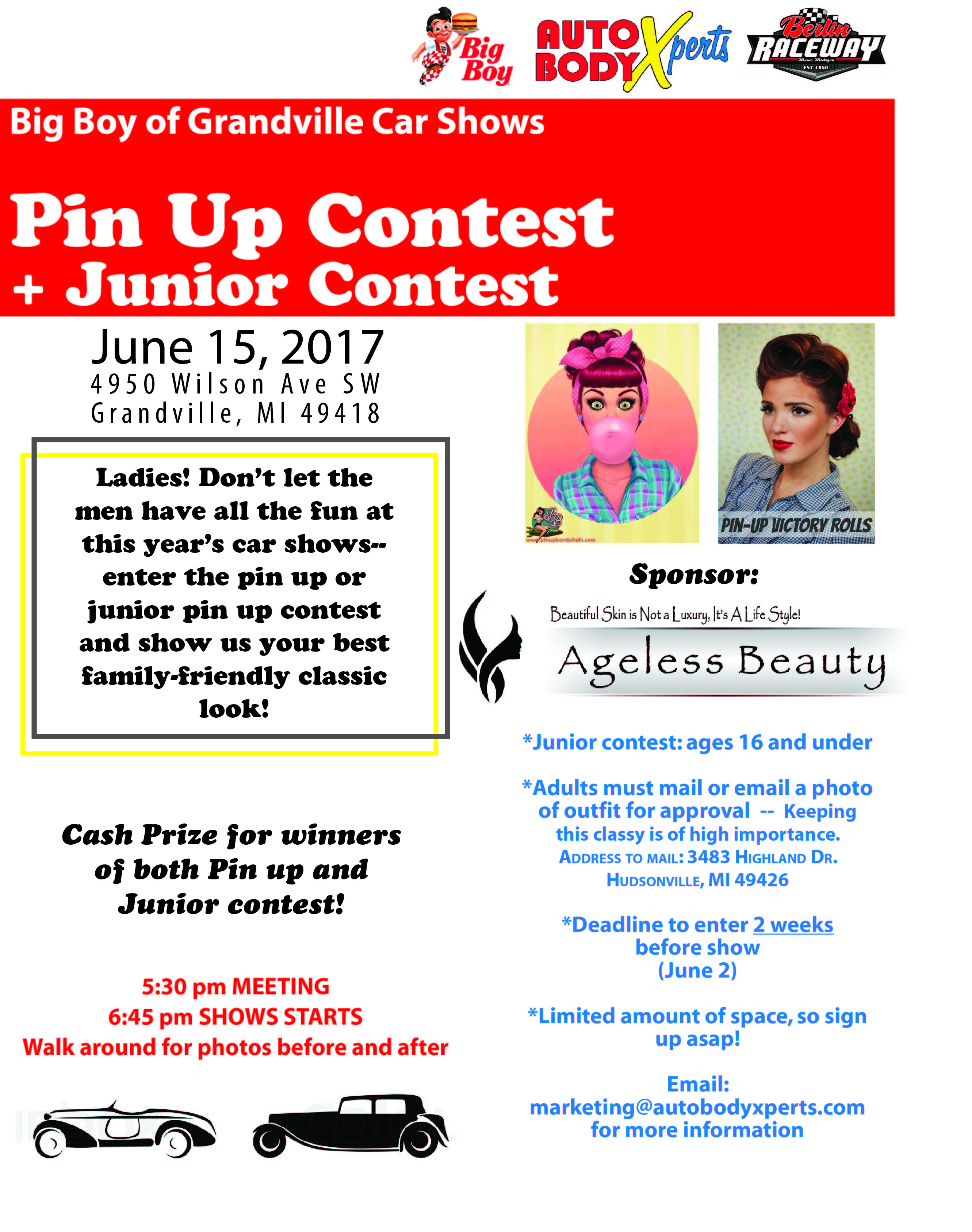 Pin Up Girl Contest